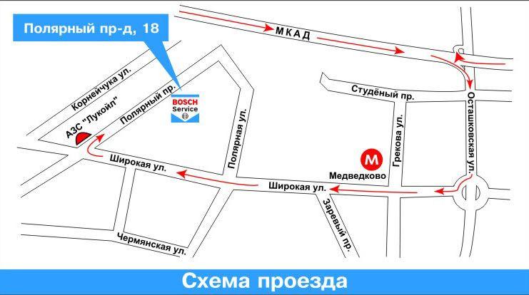 Ирбис-Авто схема проезда